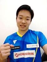オンラインでの取材に答える、東京パラリンピック卓球男子代表の岩渕幸洋=4日