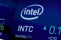 米半導体大手インテルのロゴ(AP=共同)