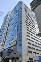 三井物産の関西支社が入居するビル=4日、大阪市