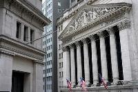 ニューヨーク証券取引所=2020年11月(AP=共同)