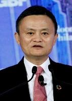 中国アリババグループ創業者の馬雲氏(ロイター=共同)