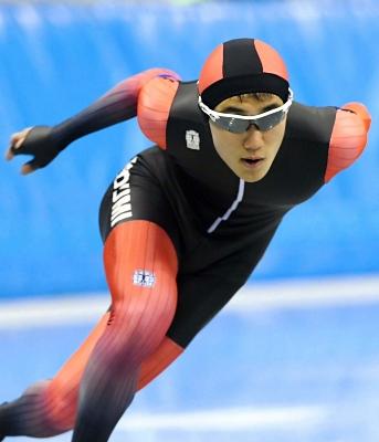 男子1500メートル 1分49秒04の大会新で優勝した井出雄斗(小海)