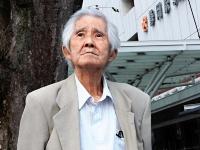 砂川事件発生から63年たった今も闘いを続ける土屋源太郎=ことし8月、静岡市