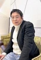 詩集「日録」を発行した森川雅美さん。「詩には鎮魂の力がある。たくさんの人が亡くなり、詩人として無視できないと思った」と震災発生当時を振り返る