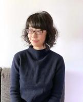 川上弘美さん。「私の小説はごく日本的なものと思って書いてきたけれど、外国でも読んでくれる人がいることに驚くし、希望を持つ」と話す