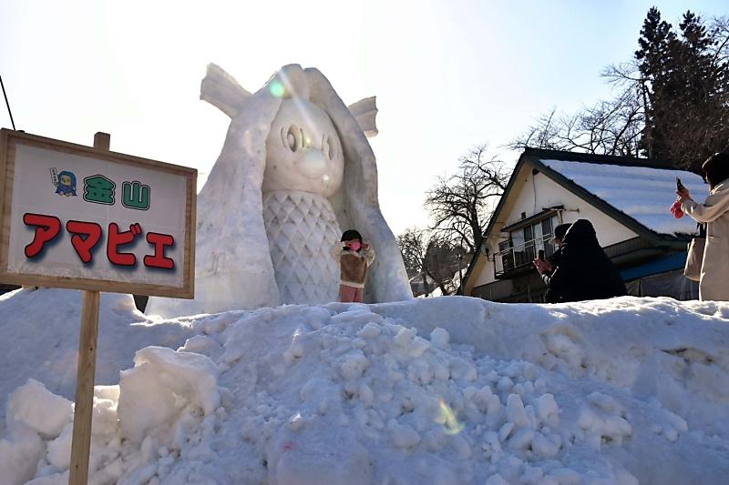 雪 まつり 飯山 信州いいやま かまくらの里