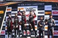WRC開幕戦のラリー・モンテカルロでトヨタは1位と2位に入った(C)TOYOTA GAZOO Racing