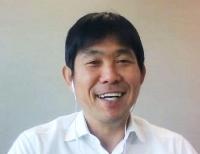 オンライン取材に応じるサッカー日本代表の森保監督=24日
