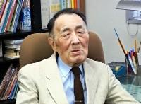 長沼ナイキ基地訴訟の一審で裁判長を務め、初の自衛隊違憲判決を出した福島重雄=昨年10月、富山市
