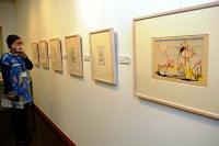 武井武雄が戦前に描いた童画などが並ぶコレクション展