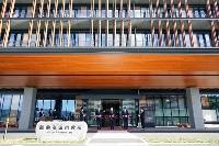 岩手県陸前高田市で行われた市役所新庁舎の開庁式=6日午前