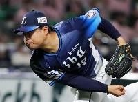 6回無失点で2勝目を挙げた西武・松本=ペイペイドーム