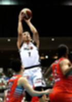 広島―信州 チーム最多の19得点を挙げた信州・井上ⓒBリーグ