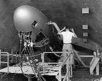 核巡航ミサイル「メースB」(国家安全保障公文書館提供、米国立公文書館所蔵)