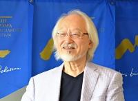 オーケストラコンサートでSKOと初共演する鈴木雅明。「互いにどう調和して演奏しようとするかが楽しくて、毎年皆さんやってきたのではないかと思います」=6月、東京都