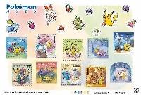 日本郵便の切手セット「ポケモン」(84円切手10枚入り)