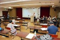 核兵器禁止条約批准を求める長野ネットの結成総会=18日、長野市