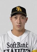 ソフトバンクの吉住晴斗投手