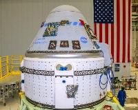 米フロリダ州から無人で打ち上げられる予定の新型宇宙船スターライナー=6月、フロリダ州(ボーイング提供・共同)
