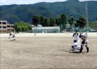 21日に松商学園グラウンドで行われた紅白戦(松商学園提供)