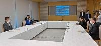 首相官邸で開かれた原子力災害対策本部と復興推進会議の合同会合=31日午前
