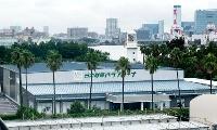 障害者アスリートの専用体育館「日本財団パラアリーナ」=6日、東京都品川区