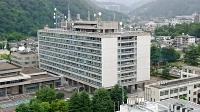 長野県庁本庁舎。県の新型コロナ「医療非常事態宣言」は12日解除される見通し