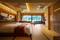 露天風呂やサウナも付き、全てのサービスが楽しめる新客室(あぶらや燈千提供)
