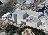 中国電力島根原発2号機=2021年9月11日(共同通信ヘリから)
