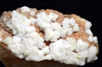 2005年に初めて小谷村内で採取された千葉石の仮晶(国立科学博物館提供)
