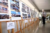 長野市役所で始まった「災害アーカイブ展」