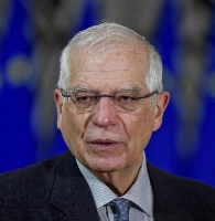 EUのボレル外交安全保障上級代表(ロイター=共同)