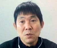 オンライン取材に応じるサッカー日本代表の森保監督=19日