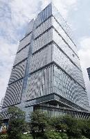 デジタル庁が入る民間のビル=東京都千代田区