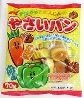カネ増製菓の「かぼちゃとにんじんのやさいパン」(国民生活センター提供)